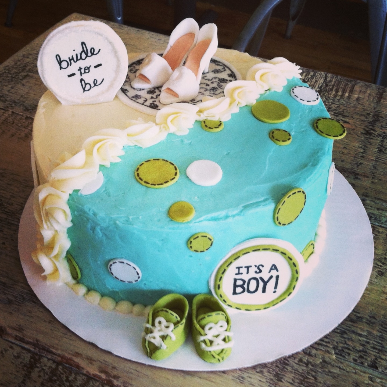 WEDDING BABY SHOWER CAKE